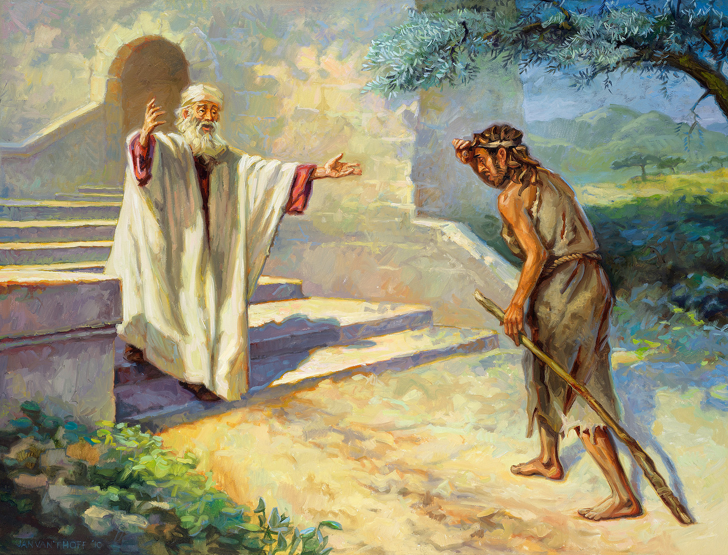 The parable of the prodigal son 1 - Gospelimages